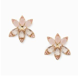 ♠️Kate Spade Blushing Blooms Gold Earrings♠️